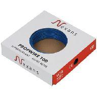 Nexans Profwire VD draad 2.5mm doos=100m, prijs=per meter blauw