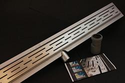 Actie -Douchegoot- 900 mm RVS