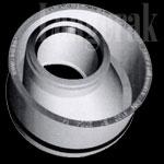 Airfit PP riolerings overgangsstuk 110x50mm