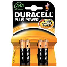 Duracell AA 4 Pack Batterijen
