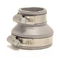 Fernco verloopkoppeling 50-40/42-30mm grijs
