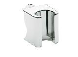 Grohe Relexa-Exquisite handdouchehouder voor glijstuk chroom