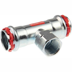 VSH SudoPress C-staal T-stuk 15-1/2-15 binnendraad