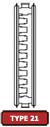 type 21 radiator